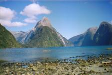 Photo of Milford Sound in New Zealand