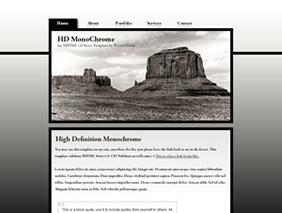 HTML template — hdmonochrome